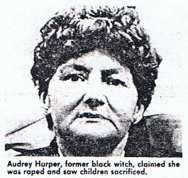 Audrey Harper on Time and Place December 1988