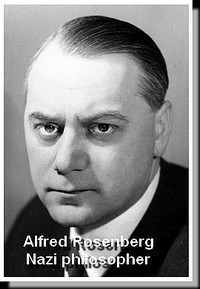 Alfred Rosenberg, Nazi philosopher in 1941 at the height of his influence.
