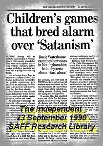 Children's Games That Bred Alarm Over Satanism,