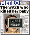 Cling Film Baby Killer Not A Witch