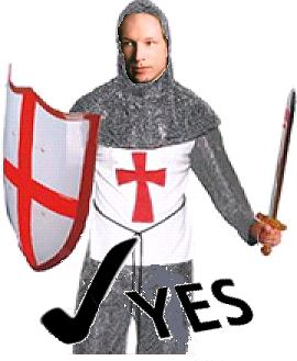 Breivik as Crusader