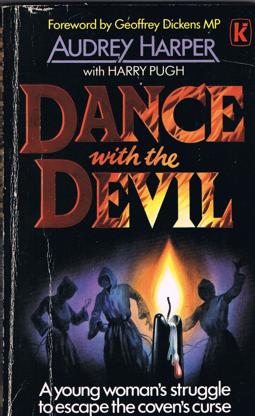 Front Cover of Audrey Harper's Dance Wth The Devil