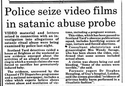 Western Daily Press 12 February 1992: Scotland Yard Swoop On TOPY