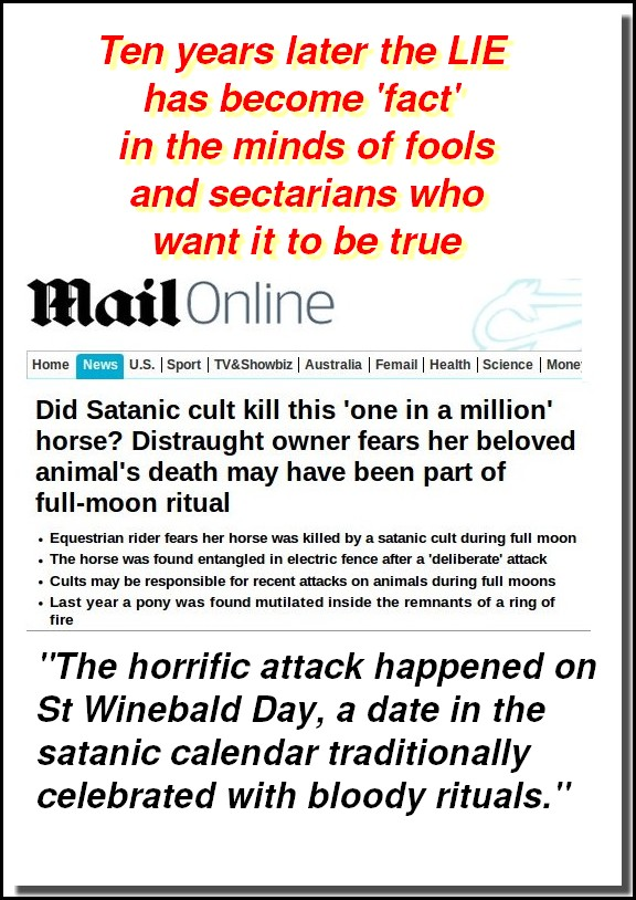 St Winebald's Day lie becomes Fact- with a twist.