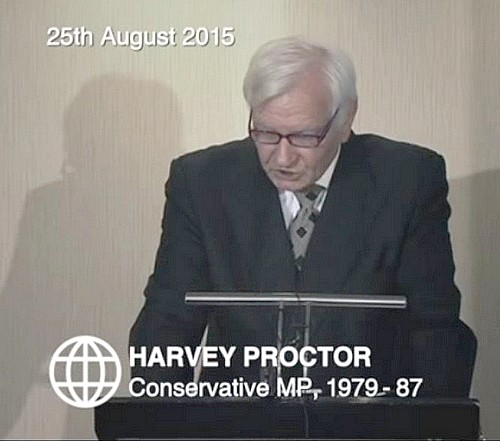 Harvey Proctor Press Conference outing 'Nick's' allegations
