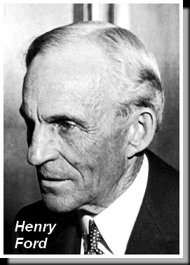 Henry Ford photographed in 1940