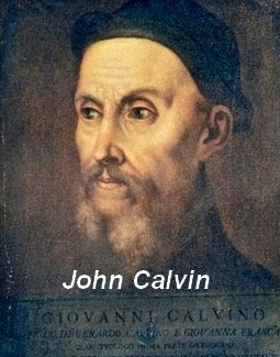 Portrait of John Calvin, founder of calvinism