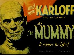 Movie Poster Boris Karloff's The Mummy