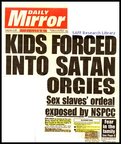 How The Daily Mirror campaigned to persecute witches and satanists