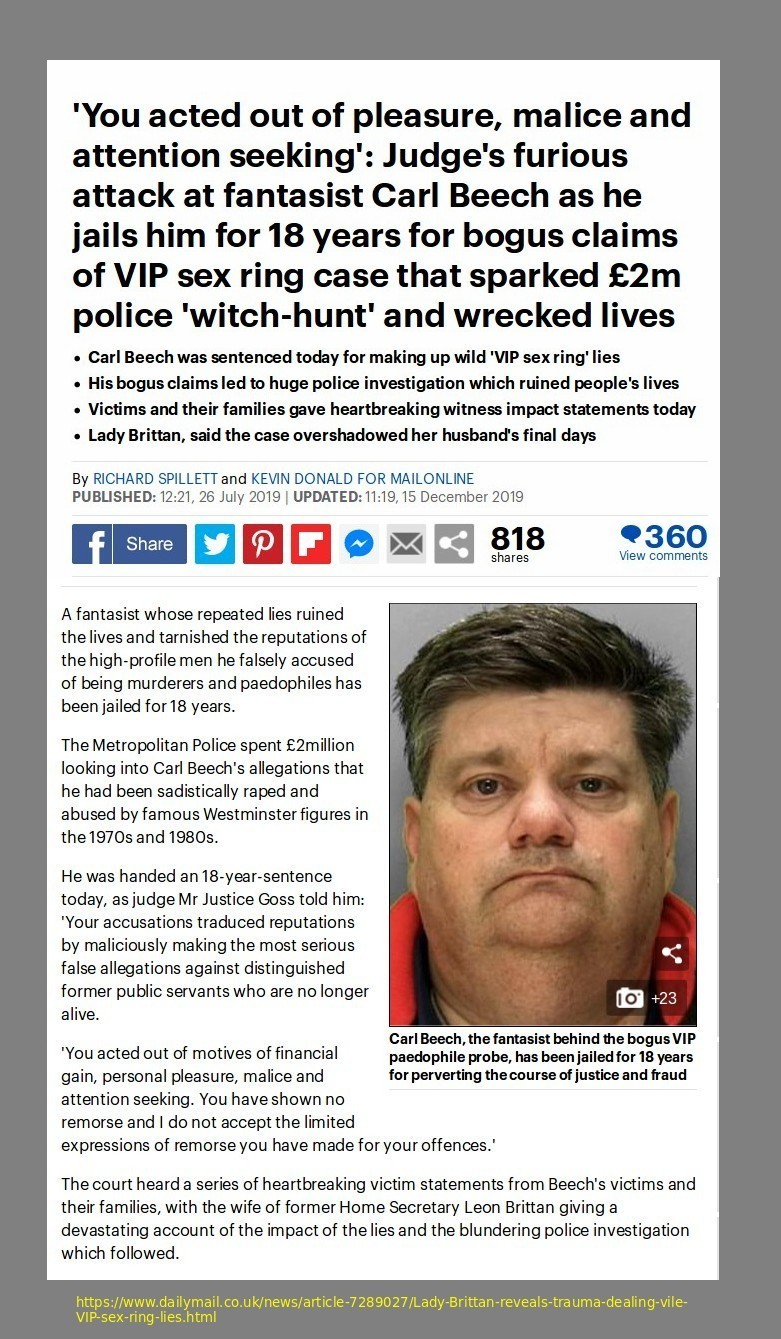 Victim Imposter Nick Carl Beech