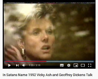 Vicky Ash Talking To Geoffrey Dickens