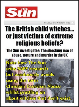 Sun's 'expose' of a Ten Year Old Scandal