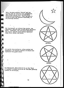 concrete evidence showing that Christian fundamentalists corrupted the information on    satanism as given to police and social services in 1987-1990 and which caused the scandals of Rochdale and Orkney